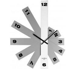 orologi da ufficio, design moderno, rexartis delta bianco