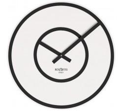 orologio da parete rotondo soft rexartis bianco