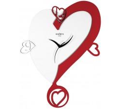 orologio da muro a forma di cuore idea regalo san valentino