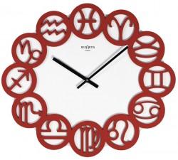 orologio da parete rosso