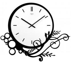 orologio da parete nero frame rexartis