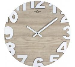 orologi da parete in legno metropolis rexartis