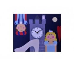 orologio cameretta bambini pirondini cenerentola