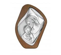 Madonna con bambino, pannello maternità