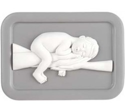 idea bomboniera battesimo bimbo e bimba