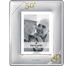cornice portafoto argento nozze d'oro 50 anniversario matrimonio