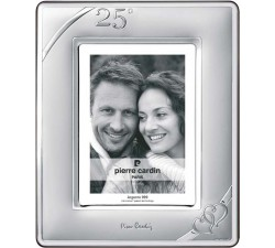 cornice anniversario 25 di matrimonio, nozze d'argento