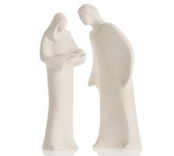 statuine sacra famiglia in argilla ceramiche centro ave