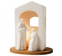 nativity presepe with center light