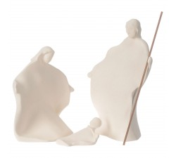 Presepe Giubileo argilla Centro Ave 22 cm