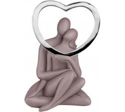 statuina soprammobile sposi innamorati