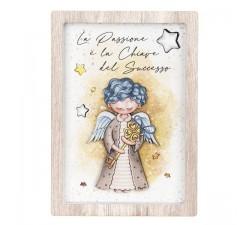 quadretto angelo custode bimbo angeli dei sogni bongelli