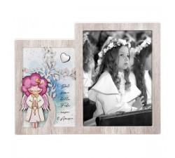 portafoto per bambini regalo prima comunione bimba