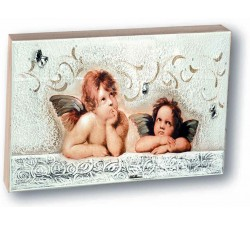 Angels of Raffaello quadretto Putti idea gift birth