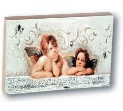 Angeli di Raffaello quadretto Putti idea regalo nascita