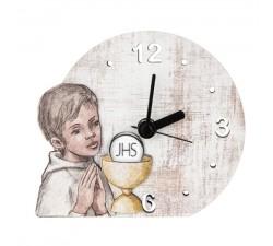 orologio da tavolo prima comunione bambino