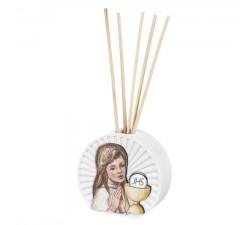 profumatore per ambiente con bastoncini prima comunione bambina