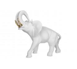 elefante portafortuna bianco