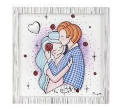 quadretto san valentino idea regalo matrimonio sposi innamorati