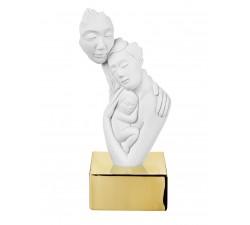 bomboniera nascita battesimo scultura la famiglia