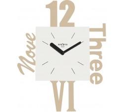 Orologio da parete di design, modern wall clock, rexartis