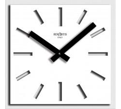 orologio da muro bianco, rexartis naso