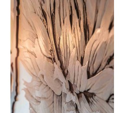 dettaglio pannello decorativo con rose