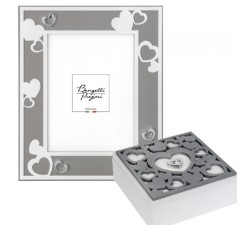 photo frame with hearts and cophet Puerto Rican