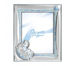 child photo holders in silver