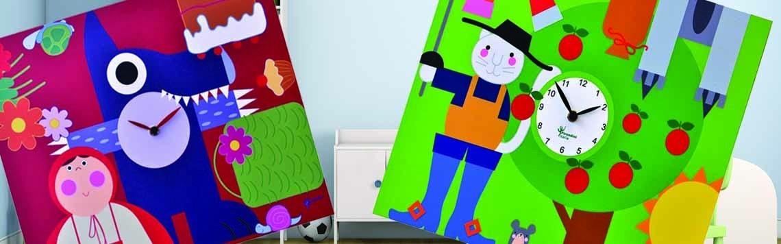 Orologi Cameretta Bambini colorati | IlBelRegalo